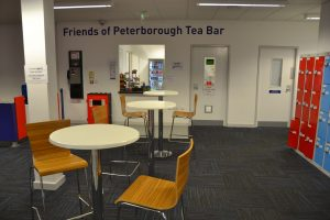 General view of the Tea Bar.
